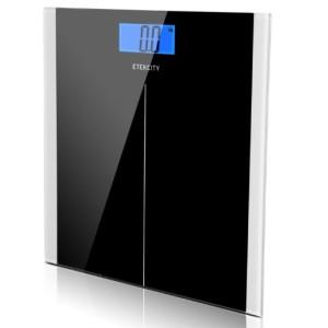 Etekcity Black Digital Bathroom Scale
