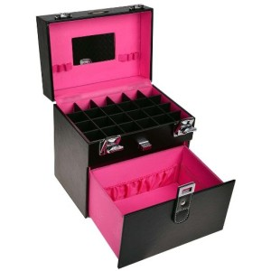 Nail Accessories Makeup Train Case