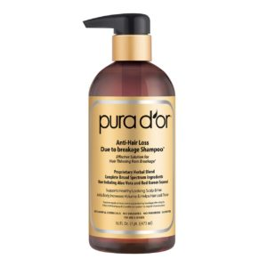 PURA dOR Gold Label Anti Hair Loss Organic Shampoo