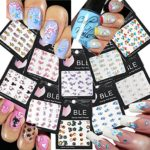 LA DEMOISELLE Beautiful Water Nail Tattoo Stickers