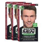 JustFOR MEN Hair Color Medium Brown H35 3-Pack