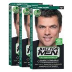 JustFOR MEN Hair Color Dark Brown 3-Pack
