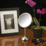 Jerdon Nickel Finish 6-Inch Vanity Mirror JP910NB