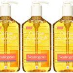 NEUTROGENA Oil Free Acne Facial Wash 3 Bottles Package