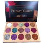 BEAUTY GLAZED Eye Shadow Palette 15 Colors Glitter