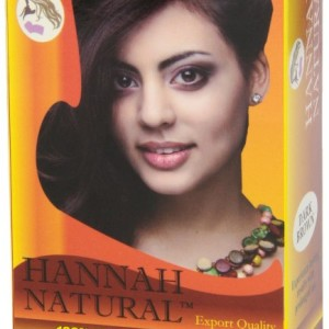 Hannah Natural Hair Dye Dark Brown,