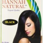 Hannah Natural Hair Dye Black