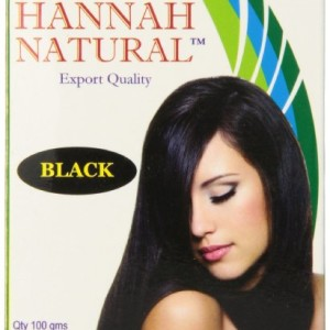 Hannah Natural Hair Dye Black