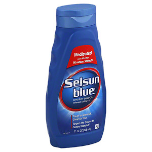 Selsun Blue Medicated Maximum Strength Dandruff Shampoo 11 Ounce