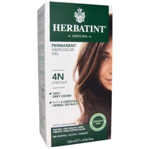 Herbatint Permanent Herbal Haircolor Gel Chestnut
