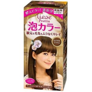 LIESE KAO Japan Prettia Bubble Hair Color Royal Brown