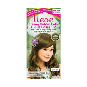 LIESE Kao Japan Creamy Bubble Color Ash Brown