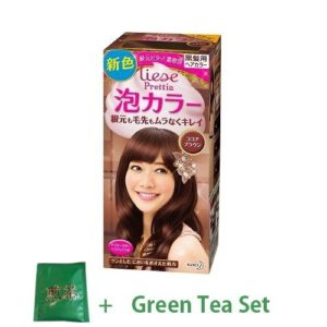 LIESE KAO Japan Bubble Hair Color Prettia Cocoa Brown
