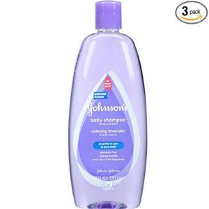 Johnsons 3-Pack Calming Lavender Baby Shampoo
