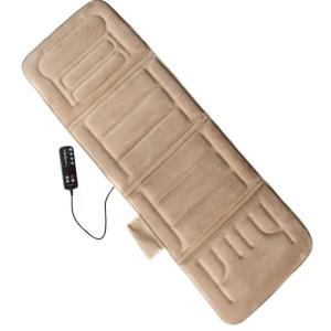 Relaxzen 60-2907P08 10-Motor Massage Plush Beige Mat