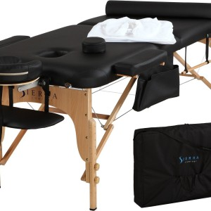 SIERRA COMFORT 5 Year Warranty Portable Massage Table