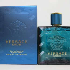 Versace Eros Men Eau De Toilette Spray 100ml, 3.3 oz