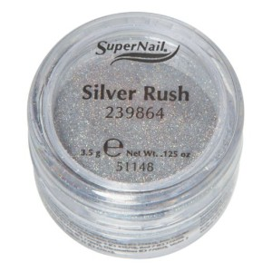 Supernail Loose Glitters Silver Rush 239864