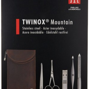 Zwilling Henckels 5-Piece Grooming Set Twinox Mountain