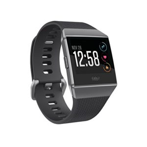 FITBIT Charcoal Smoke Gray One Size Ionic Smartwatch