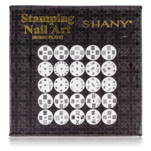 SHANY Cosmetics New Nail Polish Image Plates Set Plus Storage