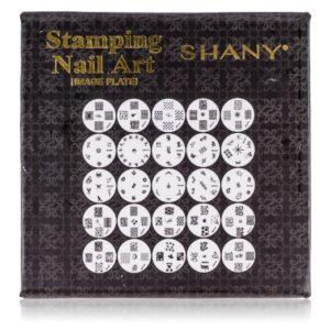 SHANY Cosmetics New Nail Polish Image Plates Set Plus Storage
