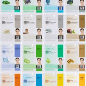 Dermal Korea Collagen Essence Full Facial Mask Sheet