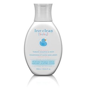 Live Clean Baby Gentle Moisture Tearless Shampoo