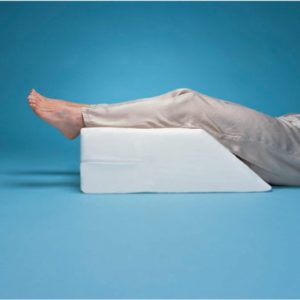 Hermell Products Elevating Leg Rest Plus Blue Polycotton Cover