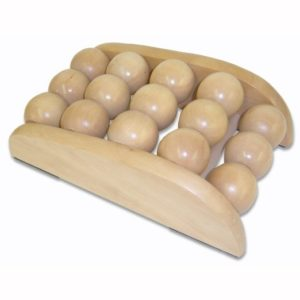 Soothera Compact Sturdy Wooden Ball Foot Massager