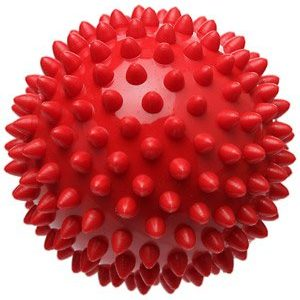Pro-Tec Athletics High Density Spiky Massage Red Ball