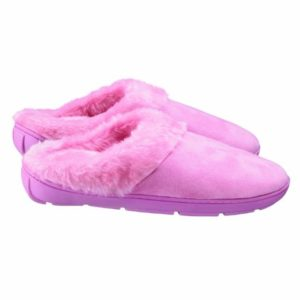 Conair Ladies Massaging Pink Slippers