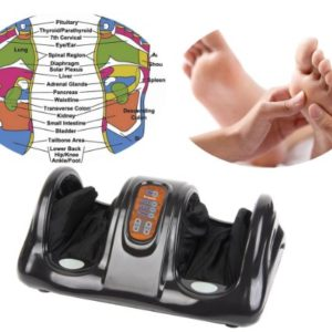 Carepeutic KH385L-B Deluxe Black Foot Massager