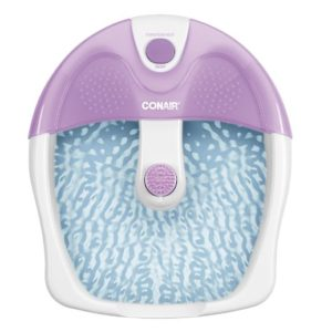 Conair Vibrating Plastic Foot Spa Plus Heat
