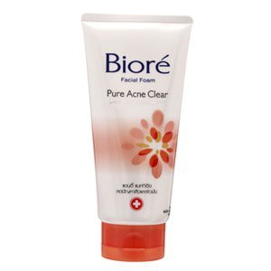 Biore Kao Facial Foam Pure Acne Clear 100g