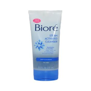 Biore Steam Activated Facial Cleanser 5 Ounce