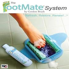 The FootMate System Foot Massager Plus Scrubber Blue
