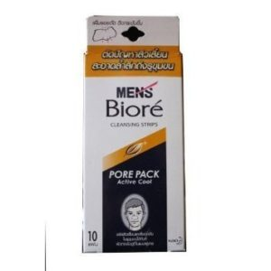 Biore Men Nose Deep Cleansing Pore Pack Active