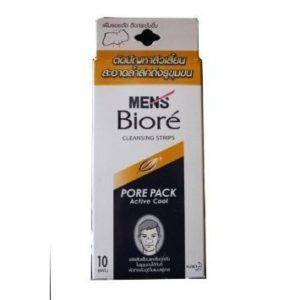 Biore Men Nose Deep Cleansing Pore Pack Active