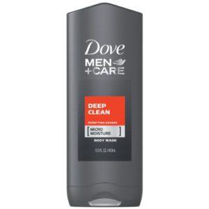 Dove Men Care Body Plus Face Wash Deep Clean