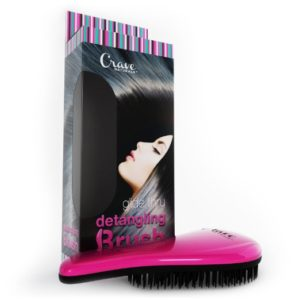 Crave Naturals Glide Thru Detangling Hair Brush