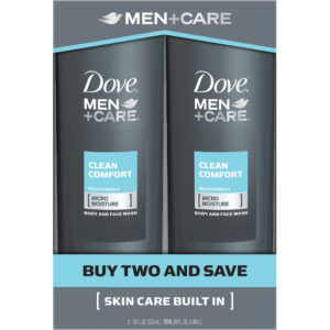 Dove Men Plus Care Clean Comfort Twin Pack