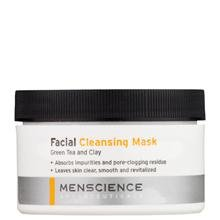 MenScience Green Tea Plus Clay Facial Cleansing Mask