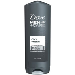 Dove Men Care Body Plus Face Wash Cool Fresh