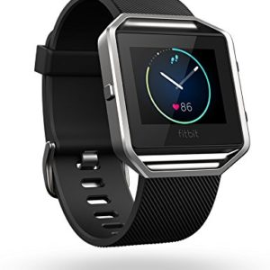 Fitbit Blaze Black Silver Large Smart Fitness Watch