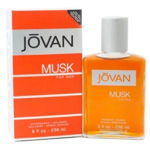 Jovan Musk Aftershave Men Cologne 236 ml