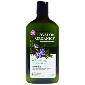 Avalon Organics Volumizing Rosemary Shampoo 11 Fluid Ounce