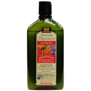 Avalon Organics Grapefruit Plus Geranium Smoothing Shampoo