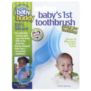 Baby Buddy FDA Approved First Blue Toothbrush
