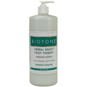 Biotone Herbal Foot Massage Lotion 32 Ounce